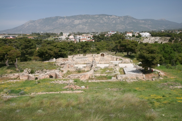 Isthmia Sanctuary - The Roman Bath complex