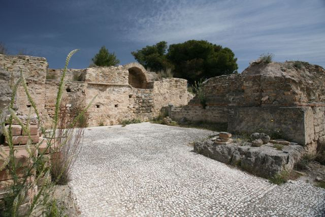 Isthmia Sanctuary - Section of the Roman Bath area