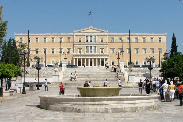 Athens - Syntagma Square and Parliament