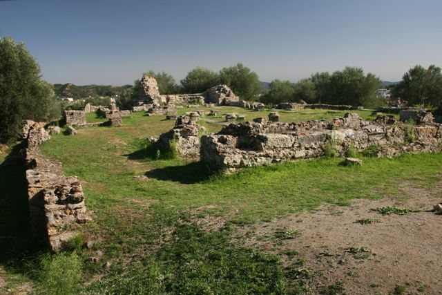 Acropolis of ancient Sparta - Built between 1st & 3rd Centuries AD