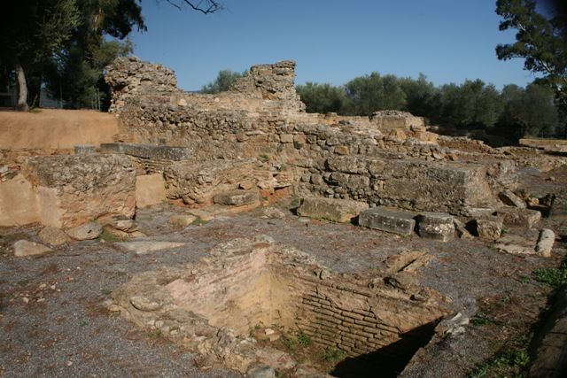 Acropolis of ancient Sparta - Basilica of Christ the Saviour - 7th Cen.