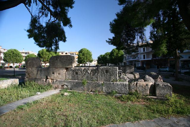Sparta - The 'Tomb of Leonidas' in the city centre