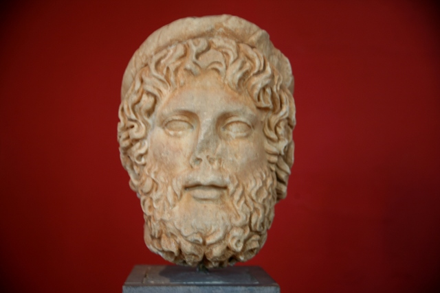 Sparta Archaeological Museum - Bearded man - 2nd Century AD