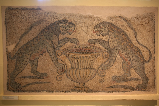Sparta Archaeological Museum - Hellenistic-Roman mosaic