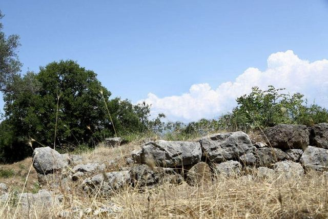 Thermopylae - Remains of the original Phocian Wall