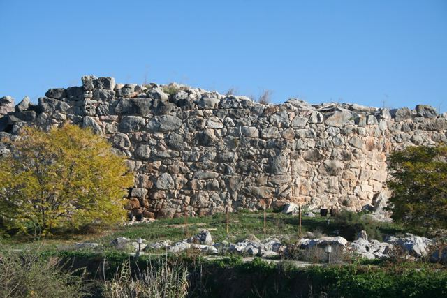 The Cyclopean walls of ancient Tiryns