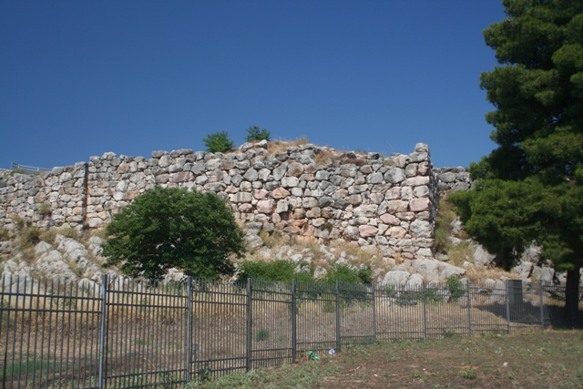 The South-West corner bastion of the citadel