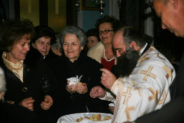 January 1 - St Basil's day - Everyone's happy with their slice